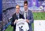 مراسم معارفه لوکاس سیلوا بازیکن جدید رئال مادرید
