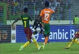 کامرون ۰-۱ ساحلعاج
