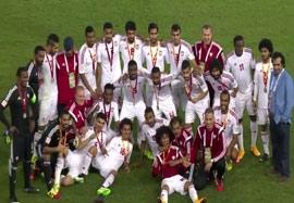 مراسم اهدای مدال برنز به امارات