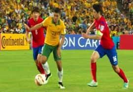 کره جنوبی ۱-۲ استرالیا