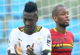 غنا ۳-۰ گینه