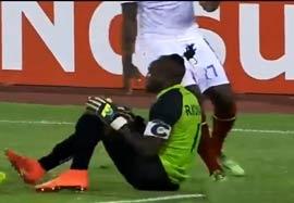 کنگو ۰-۰ گینه؛ پنالتی ۴-۲ (گلهای بازی)