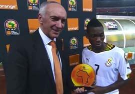 اهدای جوایز انفرادی جام ملت های آفریقا