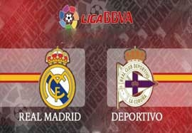 لیست بازیکنان رئال مادرید مقابل دیپورتیوو لاکرونیا