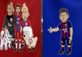 کل کل مدعیان جام قهرمانان اروپا به روایت انیمیشن(زیرنویس ورزش۳)