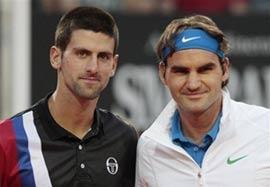 پیروزی فدرر مقابل جوکوویچ در تنیس دبی