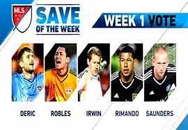 برترین سیوهای هفته اول MLS