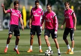 آخرین تمرین رئال مادرید قبل بازی با آلمریا
