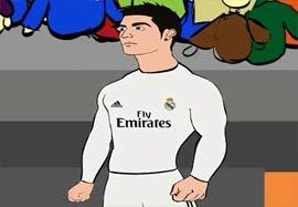 کارتون پیروزی رئال مادرید مقابل آلمریا