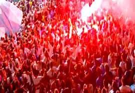 جهنم داغ هواداران مارسی برای موناکو