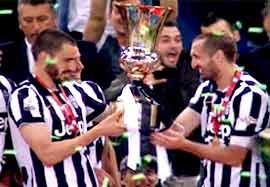 جشن قهرمانی یوونتوس (جام حذفی ایتالیا)