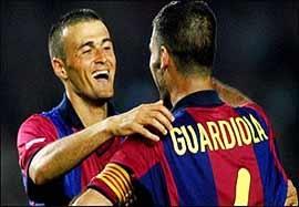 افتخارات بارسلونا همراه با انریکه در جام حذفی