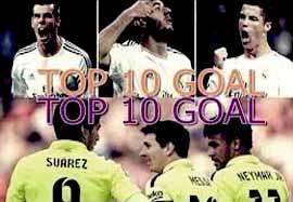 ۱۰ گل برتر مثلثهای حمله بارسلونا-رئال مادرید ۲۰۱۵-۲۰۱۴