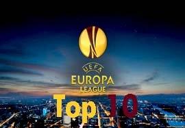 ۱۰ گل برتر لیگ اروپا فصل ۲۰۱۵-۲۰۱۴