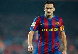 آخرین بازی ژاوی برای بارسلونا
