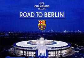 مسیر بارسلونا در راه فینال لیگ قهرمانان ۲۰۱۵