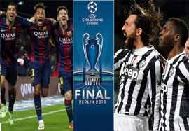 برنده لیگ قهرمانان اروپا ۲۰۱۵؟ (نظرسنجی)