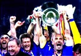 عملکرد یوونتوس در فینال های لیگ قهرمانان اروپا