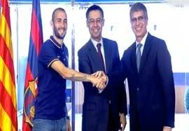 امضا قرار داد ۵ سال ویدال برای بارسلونا
