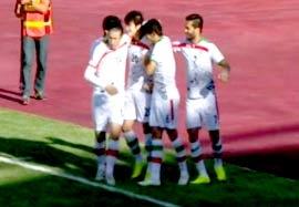ترکمنستان ۱-۱ ایران