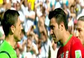 یادگار جام جهانی ۲۰۱۴ ایران-آرژانتین