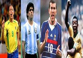 ویدیو ورزش سه تیم منتخب تمامی ادوار جام جهانی