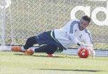 اولین تمرین کاسیا دوازهبان جدید رئال مادرید