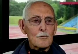 شکست رکورد دو ۱۰۰ متر توسط پیر مرد ۹۶ ساله