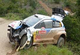 تصادف مرگبار در مسابقات WRC