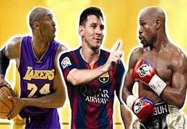 ثروتمندترین ورزشکاران سال ۲۰۱۵