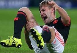شکستگی شدید پای لوک شاو در بازی آیندهوون