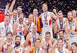 اسپانیا ۸۰-۶۳ لیتوانی(فینال بسکتبال قهرمانی اروپا)