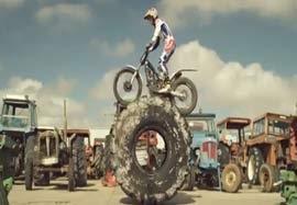 تصاویر هیجان انگیز از موتورسواری