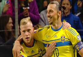 سوئد ۲-۰ مولداوی