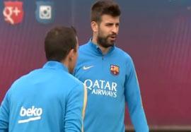 تمرین امروز بارسلونا (۹۴/۰۷/۲۲)
