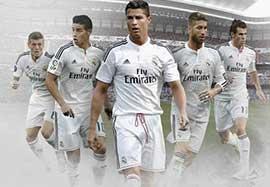 ترکیب ستارگان رئال مادرید مقابل لوانته