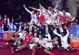 مراسم اهدای جوایز انفرادی و کاپ قهرمانی والیبال اروپا