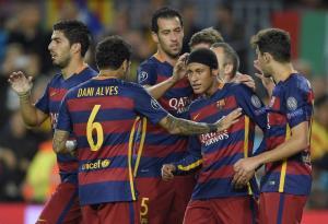 پیروزی سه گله بارسلونا برابر باته