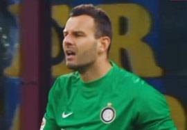 سوپر واکنش هندانوویچ در بازی مقابل آ اس رم