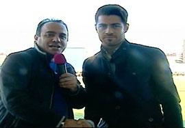 مصاحبه با پور علی گنجی در بازی خونه به خونه-نفت آبادان