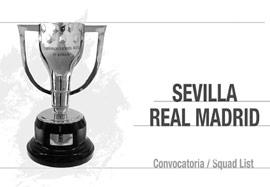 لیست بازیکنان رئال مادرید مقابل سویا