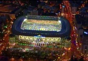 به مناسبت هفتادویکمین سال تاسیس ورزشگاه سانتیاگو برنابئو