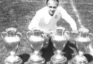 گلها و مهارتهای دیاستفانو اسطوره باشگاه رئال مادرید