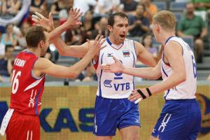 والیبال روسیه از سد آمریکا گذشت