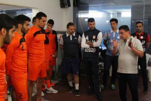 کاروان تراکتور با اتحاد در ابوظبی