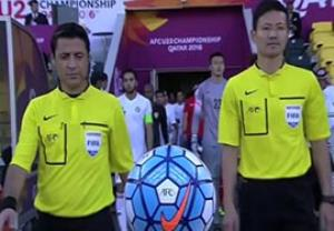 کره جنوبی 1-0 اردن (قضاوت تیم داوری فغانی)