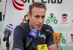 کنفرانس خبری گل محمدی قبل بازی با استقلال
