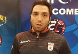 مصاحبه افتخاری و طاهری قبل بازی با قرقیزستان