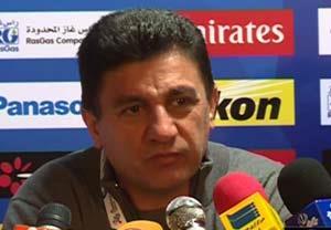 کنفرانس خبری مربیان بعد از بازی تراکتورسازی-الجزیره