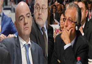 رقابت داغ اینفانتینو و شیخ سلمان در دور دوم انتخابات فیفا
